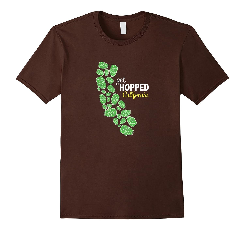 California Hops Craft Beer T-Shirt  Get Hopped