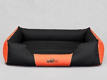 Hobbydog - Cama para Perro, Multicolor (Negro/Naranja), 3XL (140x115x25 cm): Amazon.es: Productos para mascotas