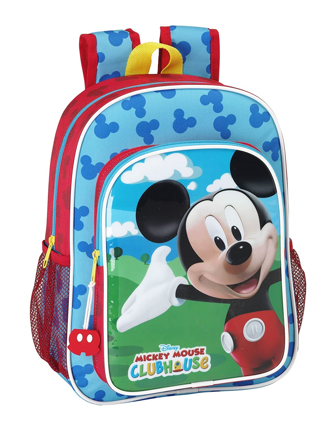 Mickey Mouse - Mochila Infantil Adaptable a Carro (Safta 611539185): Amazon.es: Equipaje