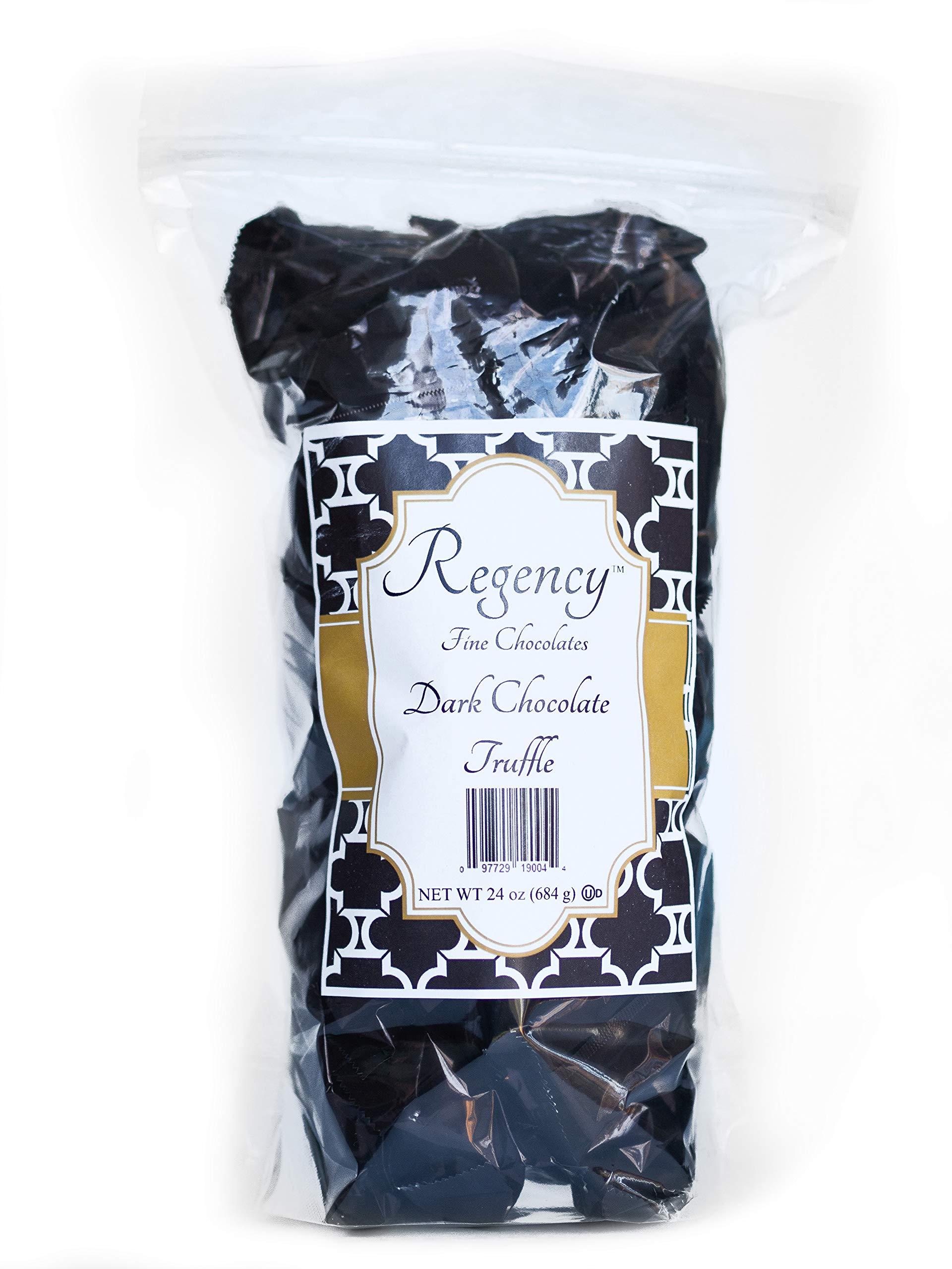 Regency Fine Chocolate Truffles, Original Dark Chocolate, 60 Count