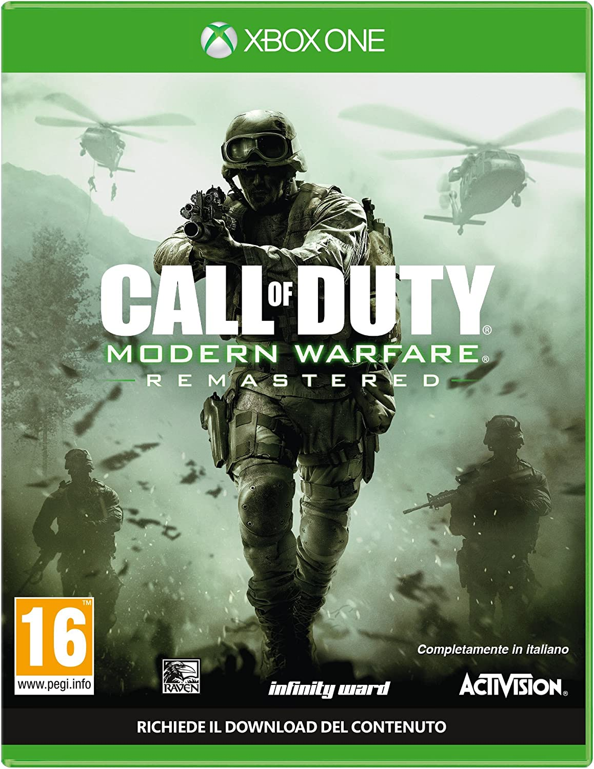 Activision Call of Duty: Modern Warfare Remastered Remastered Xbox ...