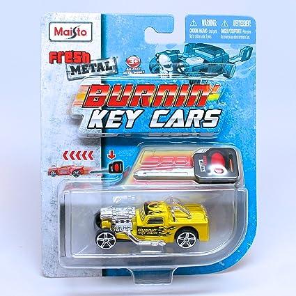 Amazon.com: Leadslinger (Yellow) * Burnin Key Cars * Maisto Fresh ...