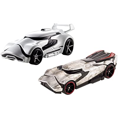 Hot Wheels Star Wars Character Car (2 Pack), #4: Toys & Games