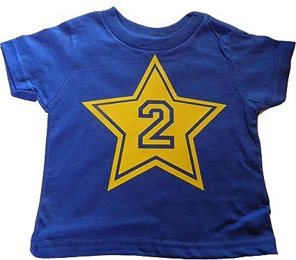 Custom Kingdom Boys Quot2quot Number Two Big Super Star Second Birthday T