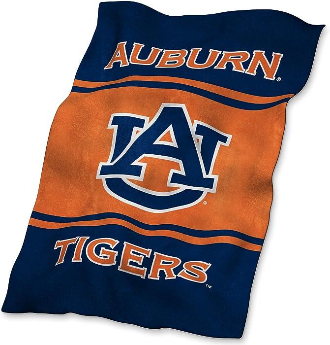 Top 10 Auburn Tigers Home Velour Beach Towel