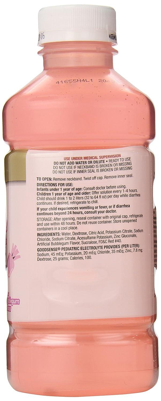 Amazon.com: GoodSense Pedia Electrolyte Liquid, Bubblegum, 33.8 Fluid Ounce (Pack of 6): Health & Personal Care
