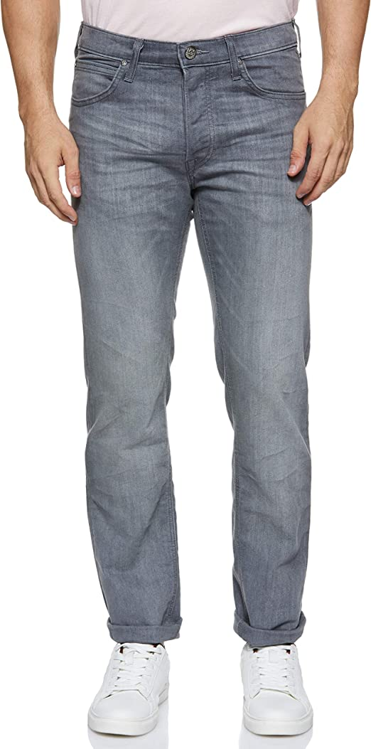 TALLA 36W / 34L. Lee Daren Button Fly Jeans para Hombre