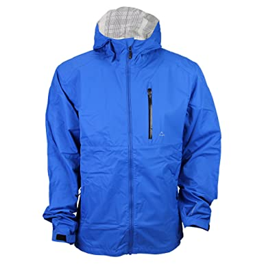 Paradox Men&39s Waterproof Breathable Rain Jacket (Large Cobalt