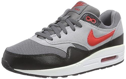 the latest 0f66e beb2c Nike Air MAX 1 (GS) - Zapatilla Deportiva de Piel NiñosNiñas, Color Gris,  Talla 36.5 Amazon.es Zapatos y complementos