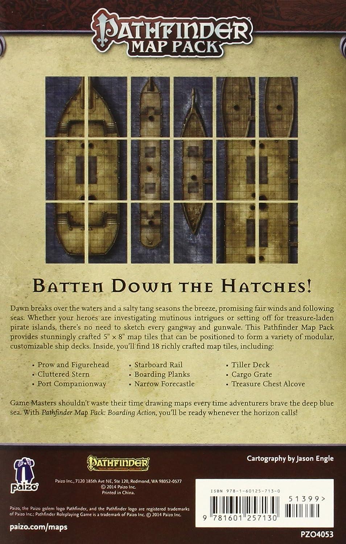 Pathfinder Map Pack: Boarding Action (Pathfinder Adventure Card Game): Engle, Jason A., Engle, Jason A.: Amazon.es: Juguetes y juegos