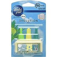Ambi Pur 3volution Botanic Breeze Elektrische navulling voor luchtverfrissers, verpakking van 6 stuks, 20 ml