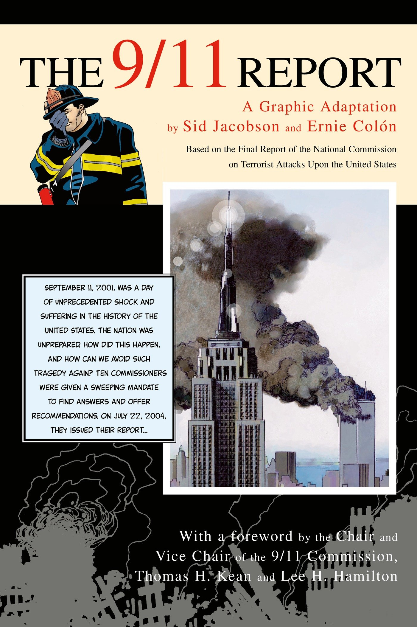 Image result for the 9/11 report a graphic adaptation