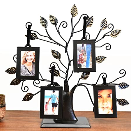 Thetford Design Family Tree Photo Frame With 4 Hanging Picture