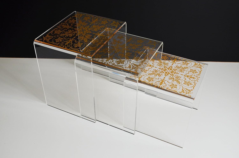 Free Immiliving Plexiglas Nistkasten Ende Tisch Couchtisch Set Klar Acryl  Gnstig Online Kaufen With Plexiglas Tisch
