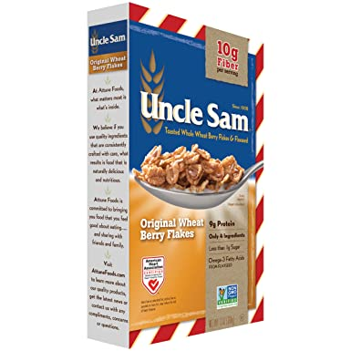 Amazon Com Uncle Sam Cereal Original Toasted Whole Wheat Berry