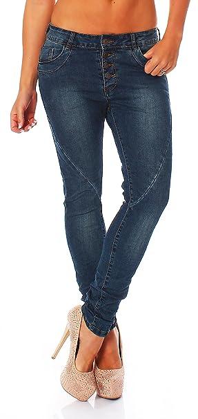 Matyfashion Pantalones Vaqueros Tubo Jeans Baggy Boyfriend ...