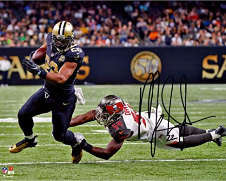 40b2caacf76 Mark Ingram New Orleans Saints Autographed 8 quot  x 10 quot  Breaking  Tackle Photograph - Fanatics