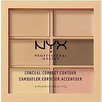 NYX Professional Makeup Conceal, Correct, Contour Palette, Light