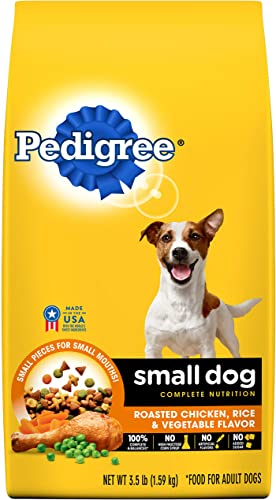 PEDIGREE Small Dog Adult Complete Nutrition Roasted Chicken