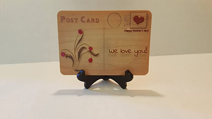 Amazon unique mothers day wood cards bunch of handmade unique mothers day wood cards bunch of handmade flowers stay forever 5 x 7 thecheapjerseys Gallery