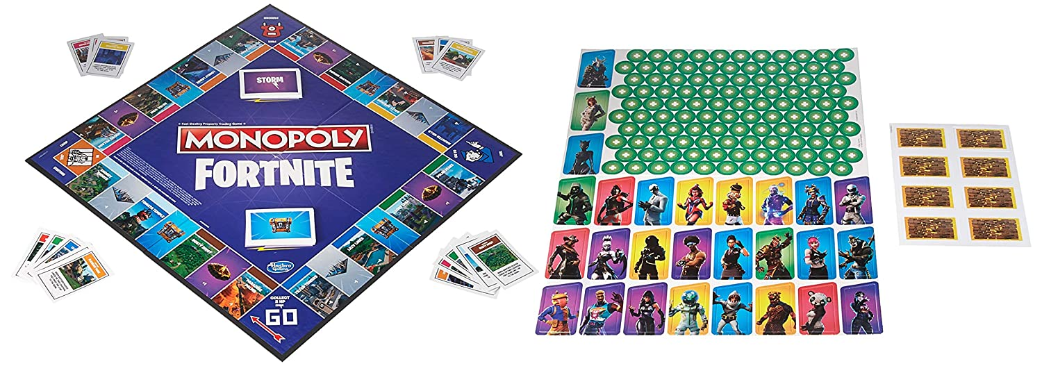 Amazon.com: Monopoly FORTNITE: Toys & Games