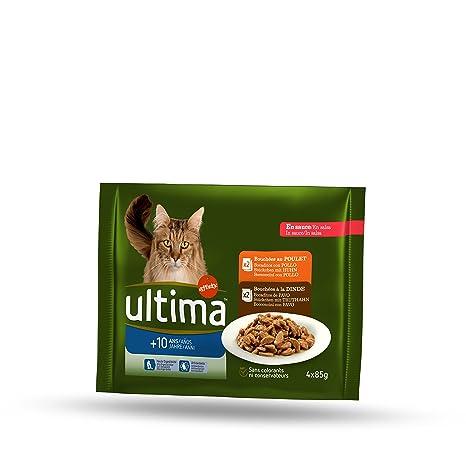 Ultima Multipack Comida para Gatos para La Tercera Edad 10 ...