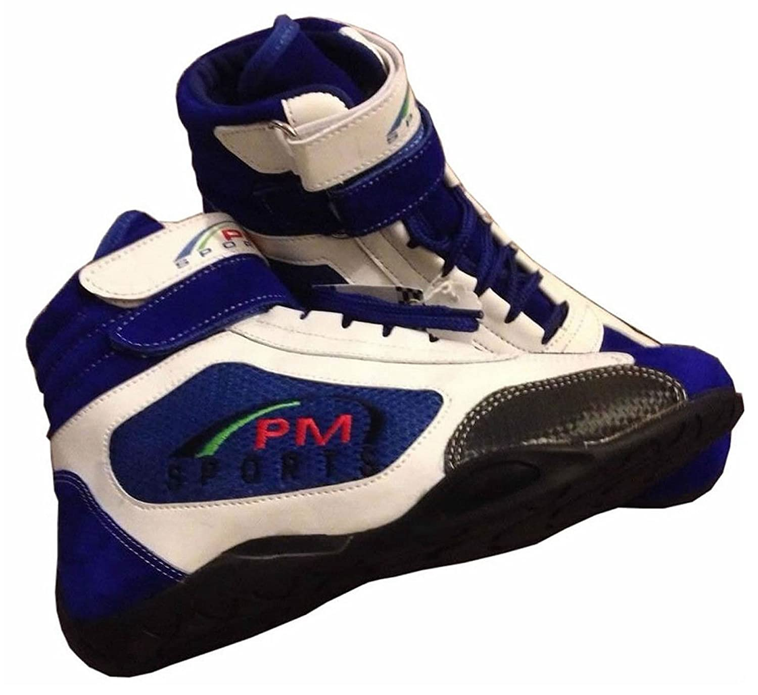 PM Sports Adulte Neuf Karting//Race/Rally/Track Bottes avec Cuir synthétique/en Daim et Mash...