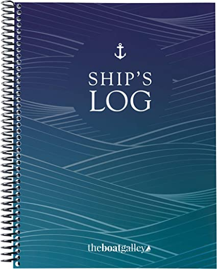 The Boat Galley 5-in-1 Ship's Log