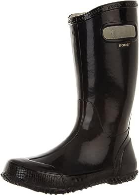 Bogs Kids Rubber Waterproof Rain Boot Boys Girls, Navy, 13 M US Little Kid