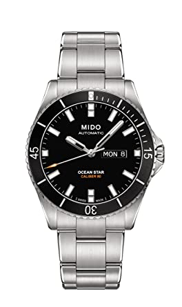 4ec70f2401c Amazon.com  Mido Ocean Star Captain V  Mido  Watches