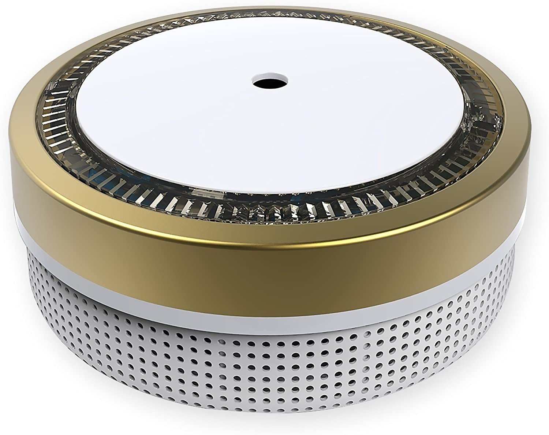 wei/ß sensiblerphotoelektrischer Rauchwarnmelder mit Lithiumbatterie Typ DC3V nach DIN EN14604 /& VDs Nemaxx M1-Mini Rauchmelder