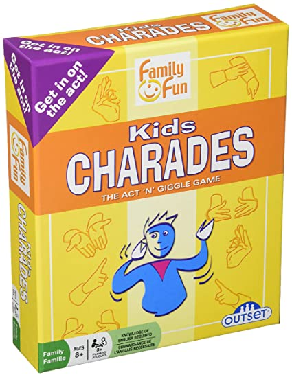 The Special Education Charade >> Amazon Com Charades For Kids An Imaginative Classic Party Game