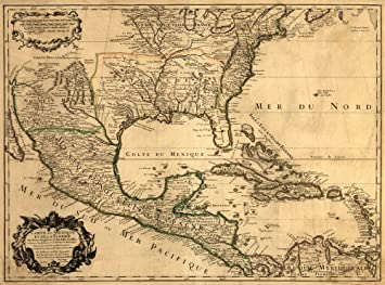 Amazon.com: Southern United States and Central America - Panoramic ...