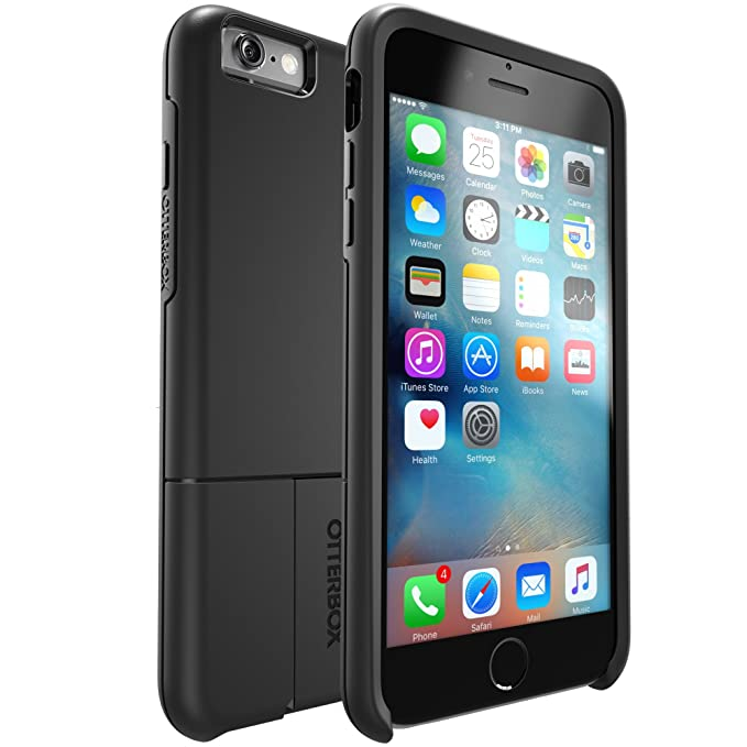free shipping 84498 f54b7 OtterBox uniVERSE iPhone 6 Plus/6s Plus Module/Swappable Case - Retail  Packaging - BLACK