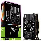 EVGA GeForce GTX 1660 XC Black Gaming, 6GB GDDR5, HDB Fan, 06G-P4-1161-KR