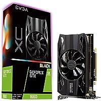 EVGA GeForce GTX 1660 XC Black Gaming, 6GB GDDR5, HDB Fans Tarjeta gráfica, Tarjeta de gráficos , XC Black