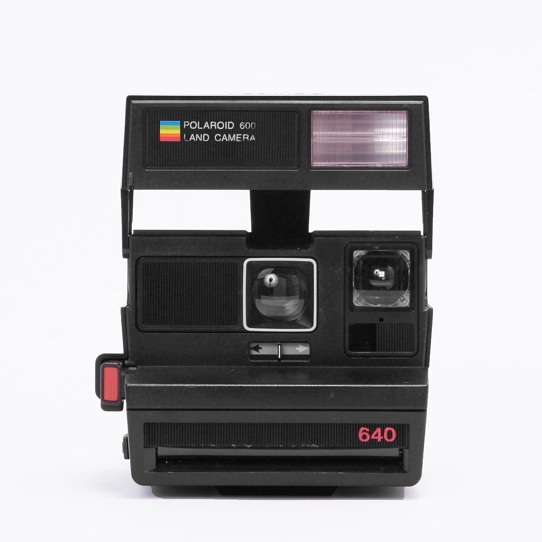 Amazon.com : Impossible Polaroid 600 Camera, Red (PRD1495) : Camera & Photo