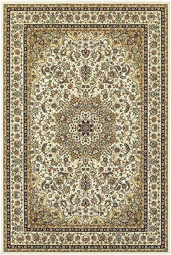 Oriental Weavers Kashan Area Rug, 5 x 8 , Ivory Beige