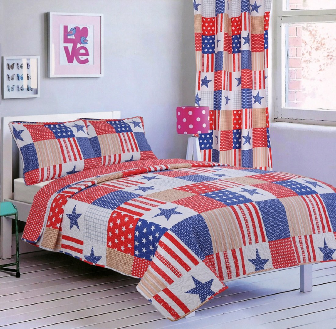 All American Collection Comforters With More
