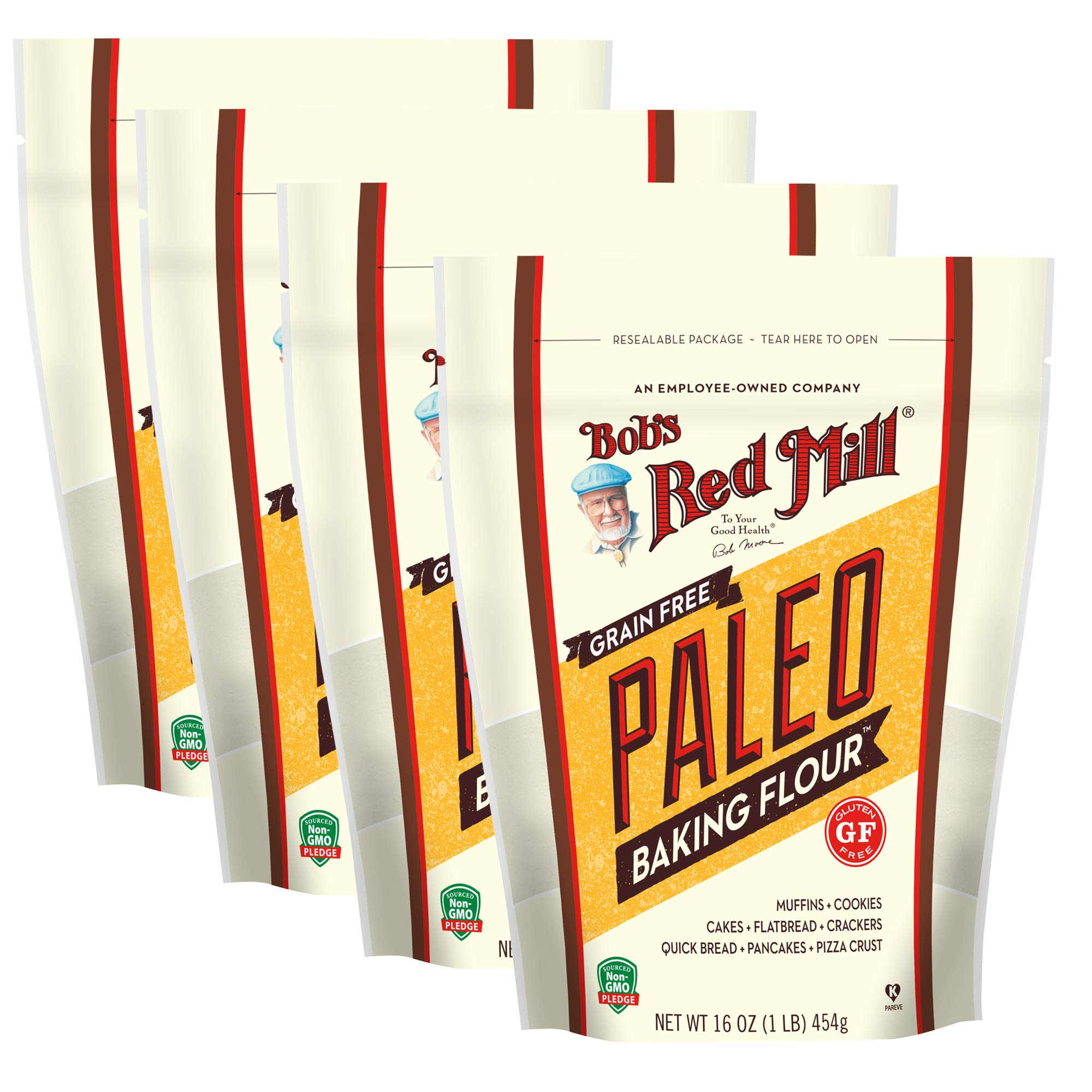 Bob's Red Mill Paleo Baking Flour, 16 Oz (4 Pack) by Bob's Red Mill
