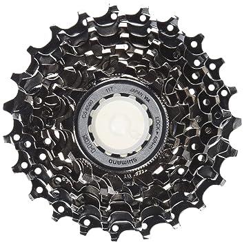 Shimano CS-HG41-8 - Casete de bicicleta, color negro: Amazon.es: Deportes y aire libre