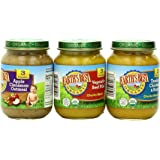 Earth's Best Organic Stage 3 Baby Food, Junior Best Sellers, 6 Ounce Jars, Pack of 12