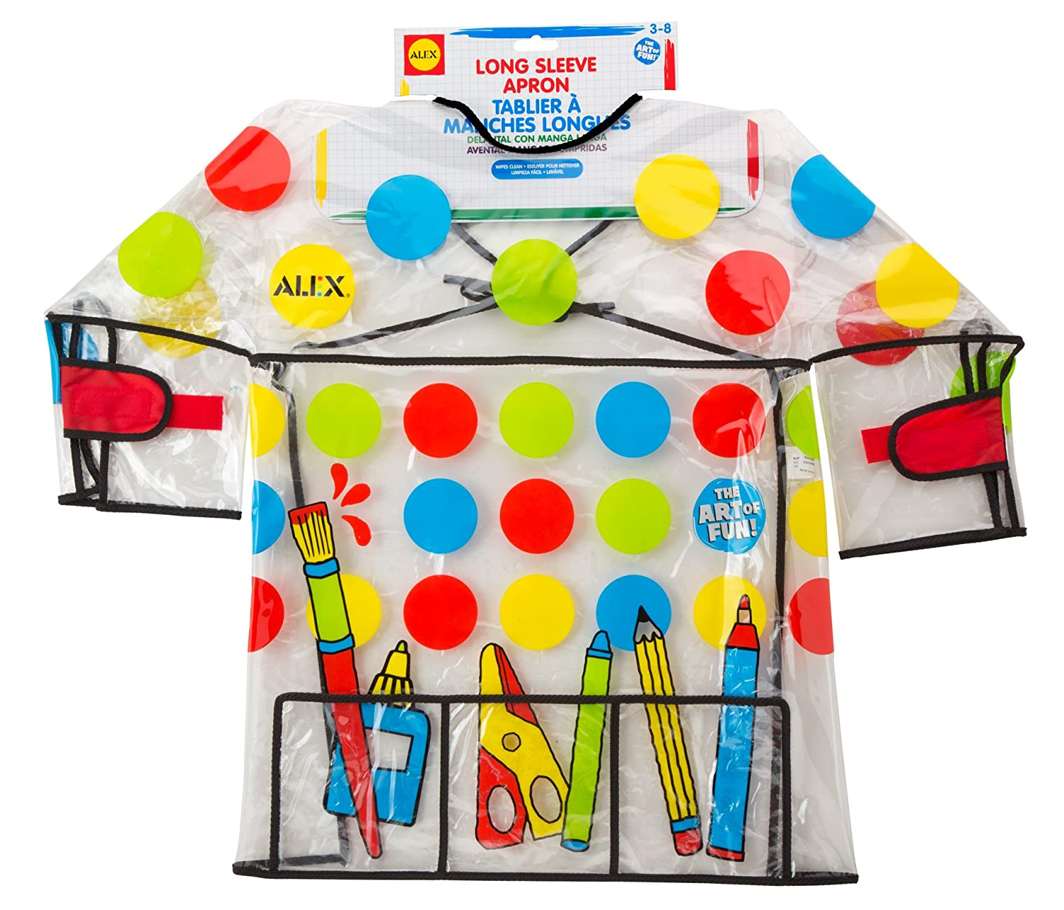 ALEX Toys Artist Studio Long Sleeve Artist Apron 303