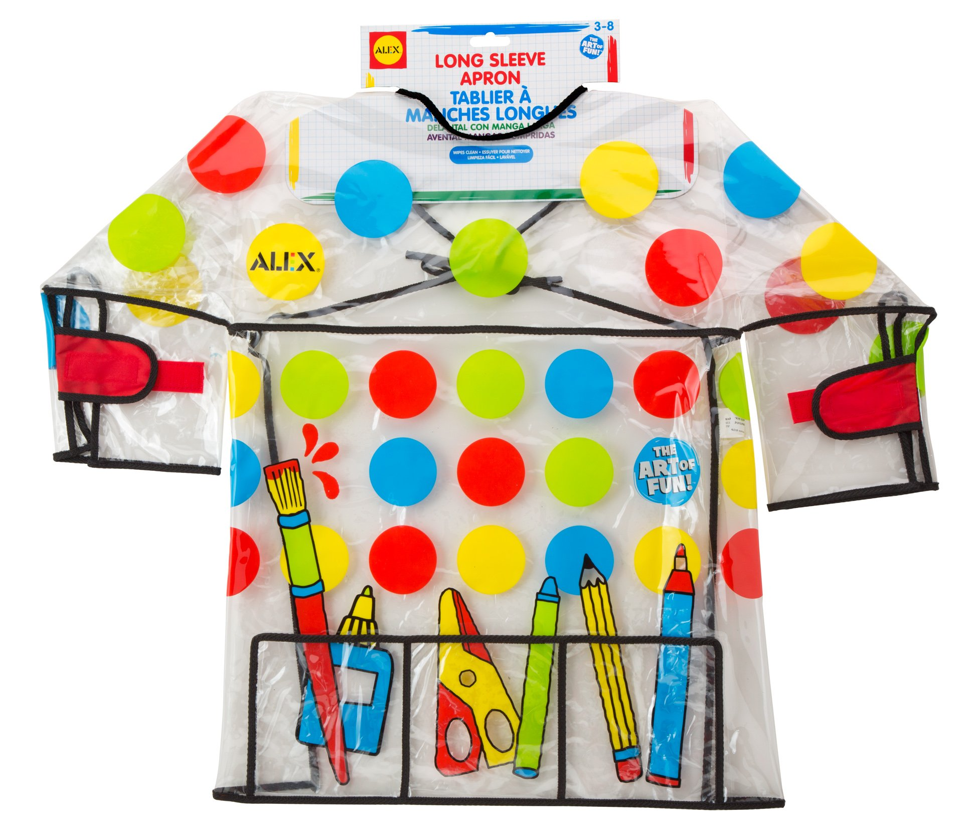 ALEX Toys Artist Studio Long Sleeve Artist Apron
