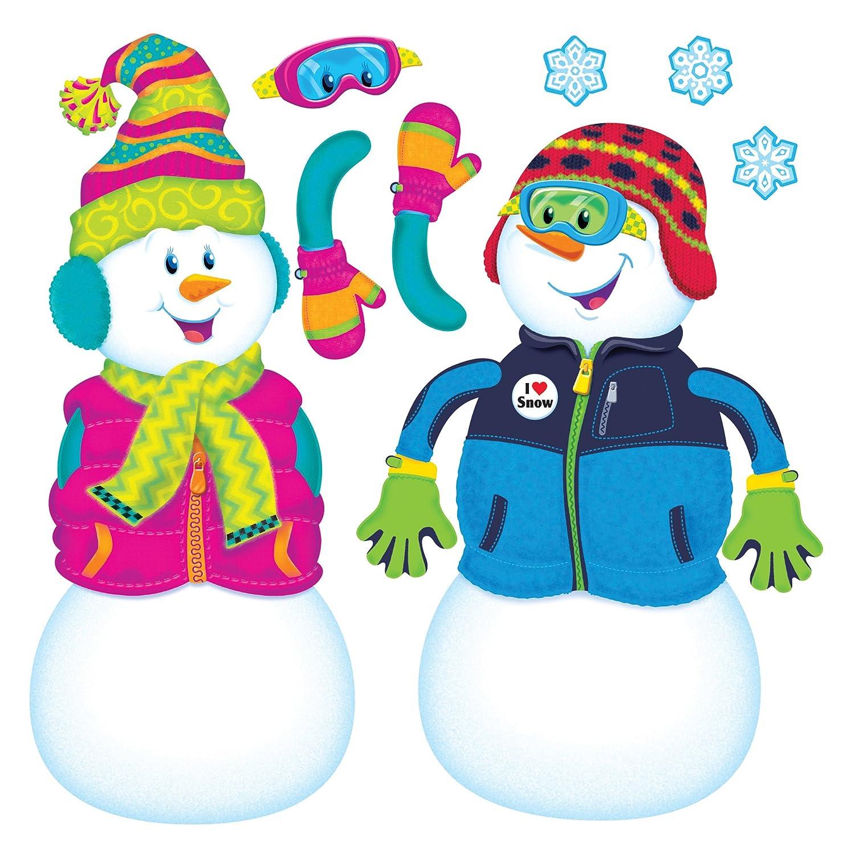 TREND enterprises, Inc. T-8291 Playful Snow Pals Bulletin Board Set