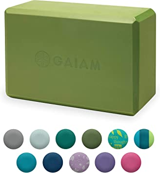 Amazon.com: Bloque para yoga Gaiam: Sports & Outdoors