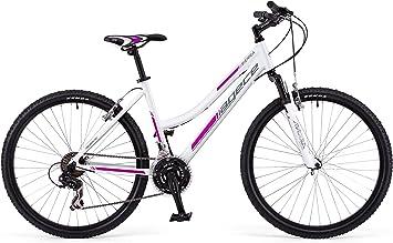Agece Sierra-26D Bicicleta de montaña, Mujer, Blanco/Rosa, S: Amazon.es: Deportes y aire libre