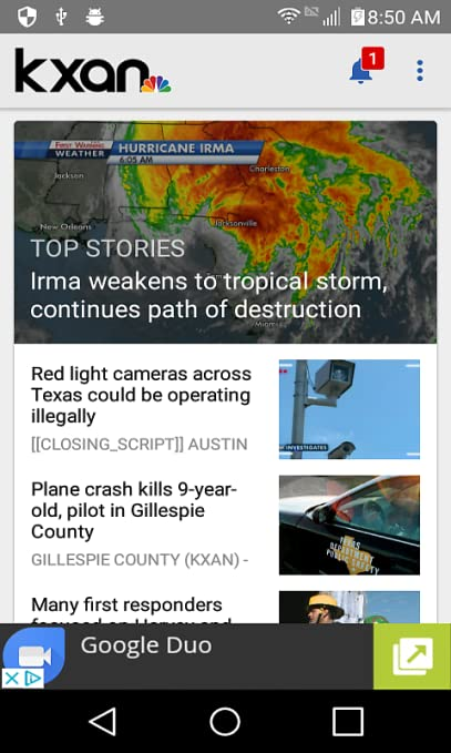 Kxan Traffic Map.Amazon Com Kxan Austin News Weather Appstore For Android