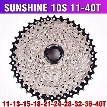 Ocamo - Caja de Cambios para Bicicleta Sunshine 11-46T 42T 50T de ...