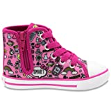 Hello Kitty Lil Avery Lace Up Fashion Sneaker with